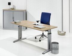 Flexline 2-T design bureau aanbouw T-poot, 80 x 60 cm