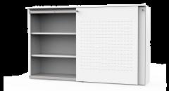 Schuifdeurkast S-Box, 122 cm (Hoogte)