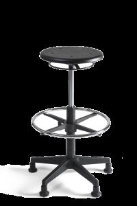 Werkstoel Tabouret hoog PU