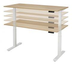 Flex Elektrisch in hoogte verstelbaar bureau 160 x 80 cm